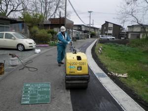 舗装復旧状況